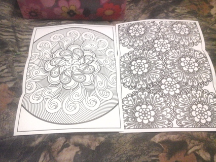 Coloring pages Paisley
