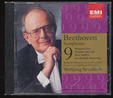 """""""Beetoven, Symphonie 9"""", CD, See Photo 2 for Playlist - CD-013"""