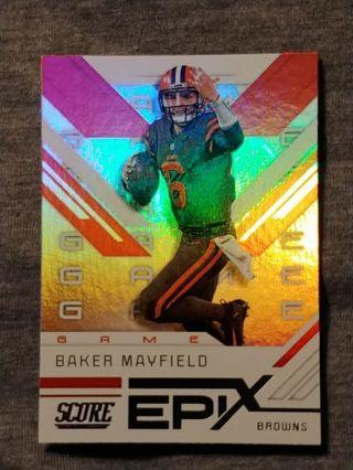 Cleveland Browns / Baker Mayfield Insert Card