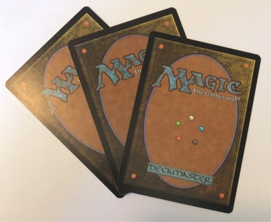 3 Random Magic: the Gathering Cards MtG