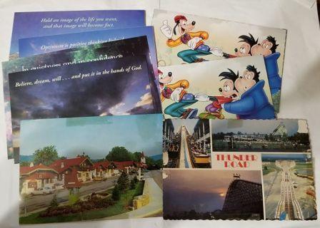 9 New Postcards