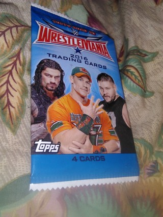 WRESTLEMANIA TRADING CARDS