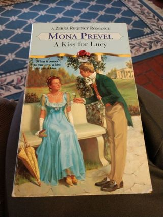 A Kiss for Lucy by Mona Prevel (paperback)