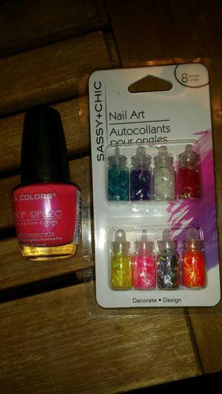Brand new polish and nail art kit