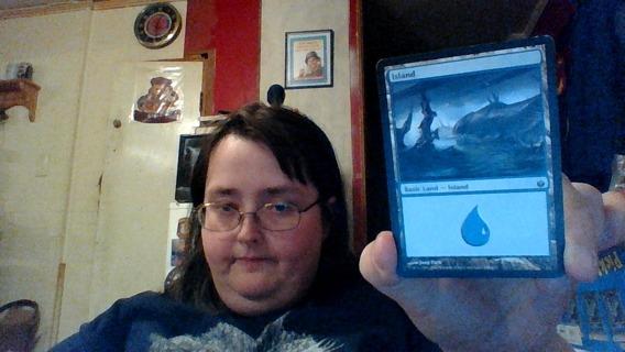 MAGIC ( Island CARD )