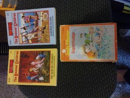 Three Chapter Books