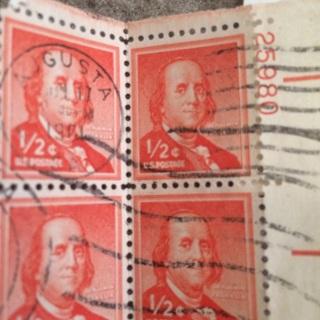 HUGE super old (used) stamps lot
