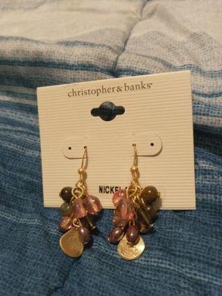 New Christopher & Banks Earring