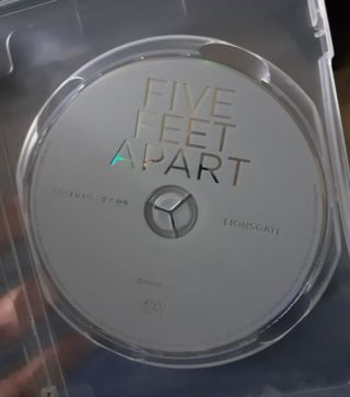FIVE FEET APART MOVIE STARRING COLE SPROUSE DVD DISC ONLY
