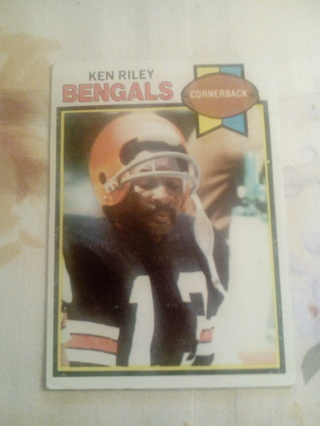 Topps #205 (1979) Ken Riley
