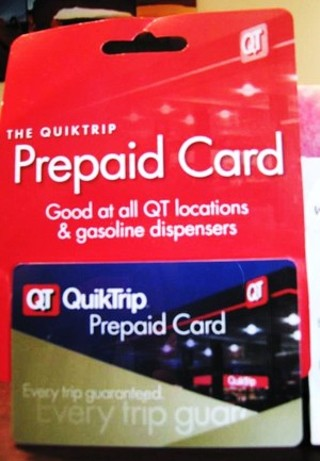 Free: W@W! $10 GAS CARD TO QUICK TRIP, FREE SHIPPING - Gift Cards