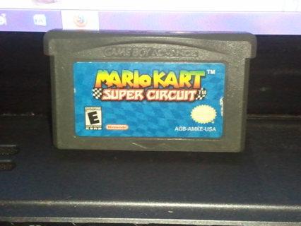 *~*~*~Nintendo GameBoy Advance Mario Kart SUper Circuit~*~*~*