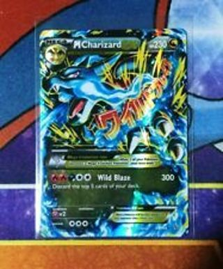 21 DAY POKEMON CARD MEGA EX CHARIZARD & OTHER COOL EX POKEMON CARDS>1 CARD ADDED EVERY DAY !
