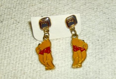 Disney Pooh Bear Earrings