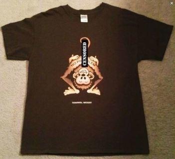 Naughty Mooning Monkey Shirt Travel Souvenir Tee FREE SHIPPING