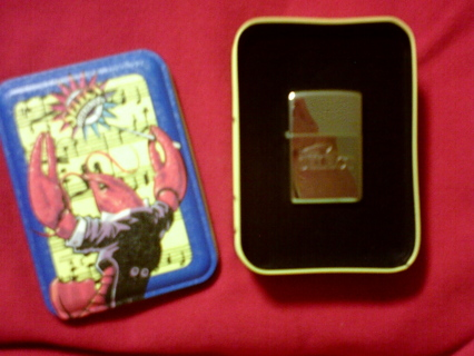 Free: Awesome Collectors Zippo Lighter Winston SELECT With Tin