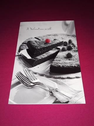 Valentine Card - Cake