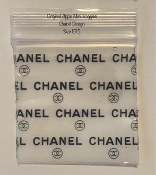 25 Original Apple Mini Baggies Chanel Size 1515