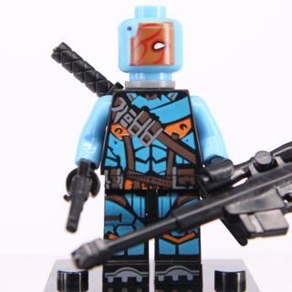 New Deathstroke Minifigure Building Toy Custom Lego