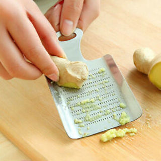 Garlic Grater Vegetable Lemon Spice Grinder Ginger Grater Garlic Press Crusher