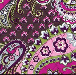 Free Vera Bradley Wallpaper In Very Berry Paisley Photography
