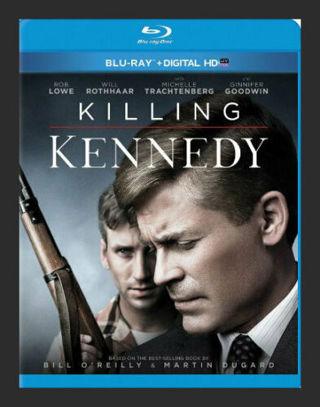 2014 Killing Kennedy (Blu-ray Disc + Digital HD) based on Bill O'Reilly book, Rob Lowe -New & Sealed