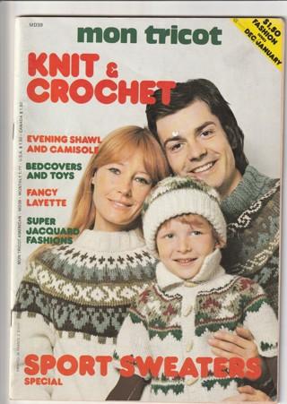 Craft Magazine: Mon Tricot Knit and Crochet