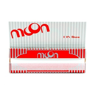 MOON cigarette rolling papers , 50 count  (1-Pack)