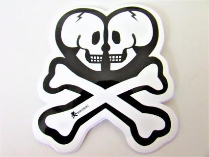 TOKIDOKI TILL DEATH US DO PART Vinyl Sticker- Helmet/Car/Skateboard/Business/Crafts