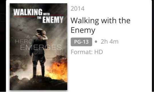 Walking with the enemy. Digital HD. MoviesAnywhere