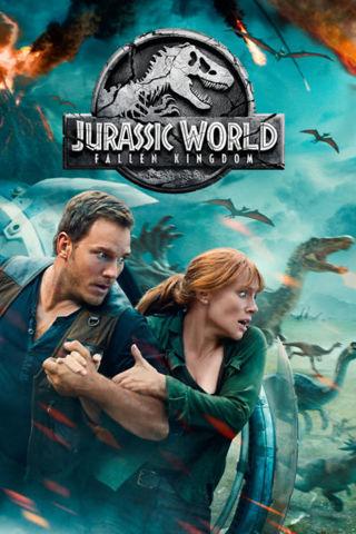 Jurassic World Fallen Kingdom HDX Vudu or HD iTunes Code