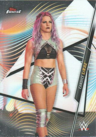 Candice Le Rae 2020 WWE Topps Finest Chrome Card #74 NXT