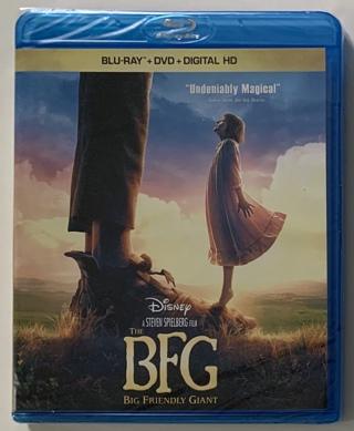 Disney The BFG (Blu-Ray + DVD + Digital HD) Movie - Brand New Factory Sealed