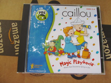 CAILLOU 3 CD roms  Games