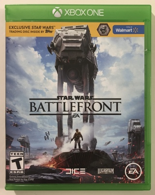 Xbox One Star Wars Battlefront Video Game with Case and Exclusive Trading Disc