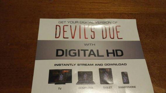 Devil's Due Digital Movie Code