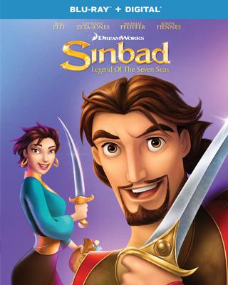 Sinbad : Legend of The Seven Seas (Digital HD Download Code Only) **Brad Pitt** **Joseph Fiennes**