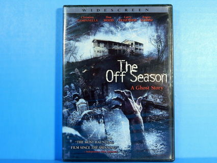The Off Season A Ghost Story DVD *Horror* Angus Scrimm RARE