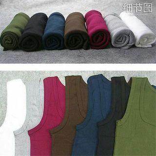 Mens Plain T-Shirts Tank Tops Muscle Tees Cami Sleeveless Sweats Shirt Casual