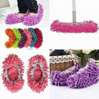 Shoe Clean Shoe Covers Floor Cleaning Slippers Shoes Mop Cleaner Dust Cleaner
