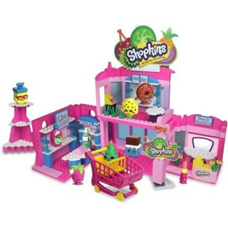 NEW+ Shopkins Kinstruction Town Center. FREE SHIP!
