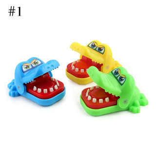 Kids Toys Bite Hand Toy Safety Material Cute Mini Cartoon Colorful Shark