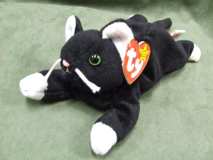 Free  Zip the Cat Original TY Beanie Babies - Dolls   Stuffed ... b3b5c6577dd