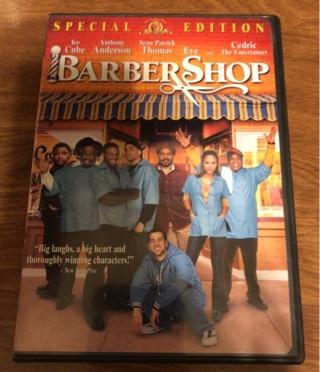 Barber Shop DVD