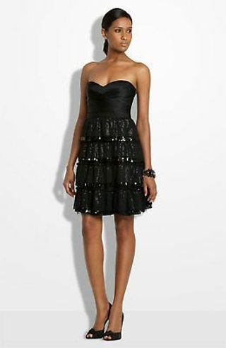 NWT BCBGMaxAzria Little black dress sz6p