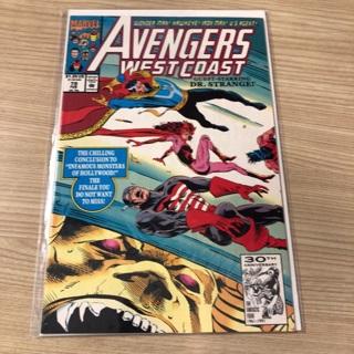 avengers west coast #79  marvel  1992 comic