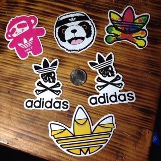 Adidas stickers sticker lot