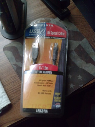 USB2 Hi-Speed Cable