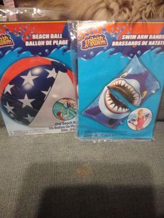 Swim pool toys