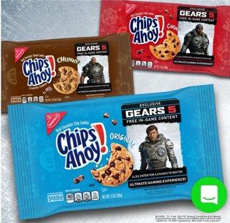 Chips Ahoy Gears Of War 5 DLC Exclusive Codes for bonus content